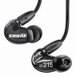 SHURE Sound Isolating Earphone [SE215-K] - Black - Earphone Ear Monitor / IEM